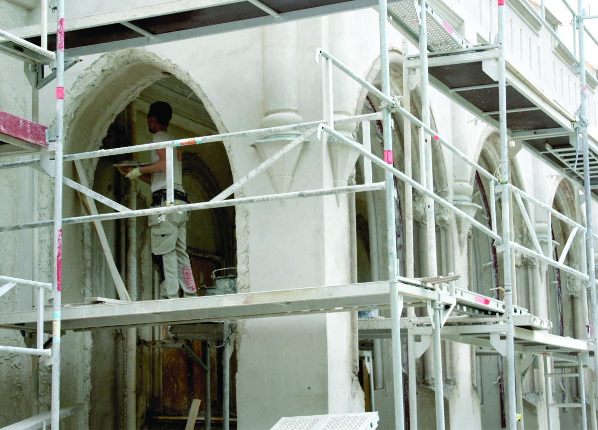 bogesund renovering fasad