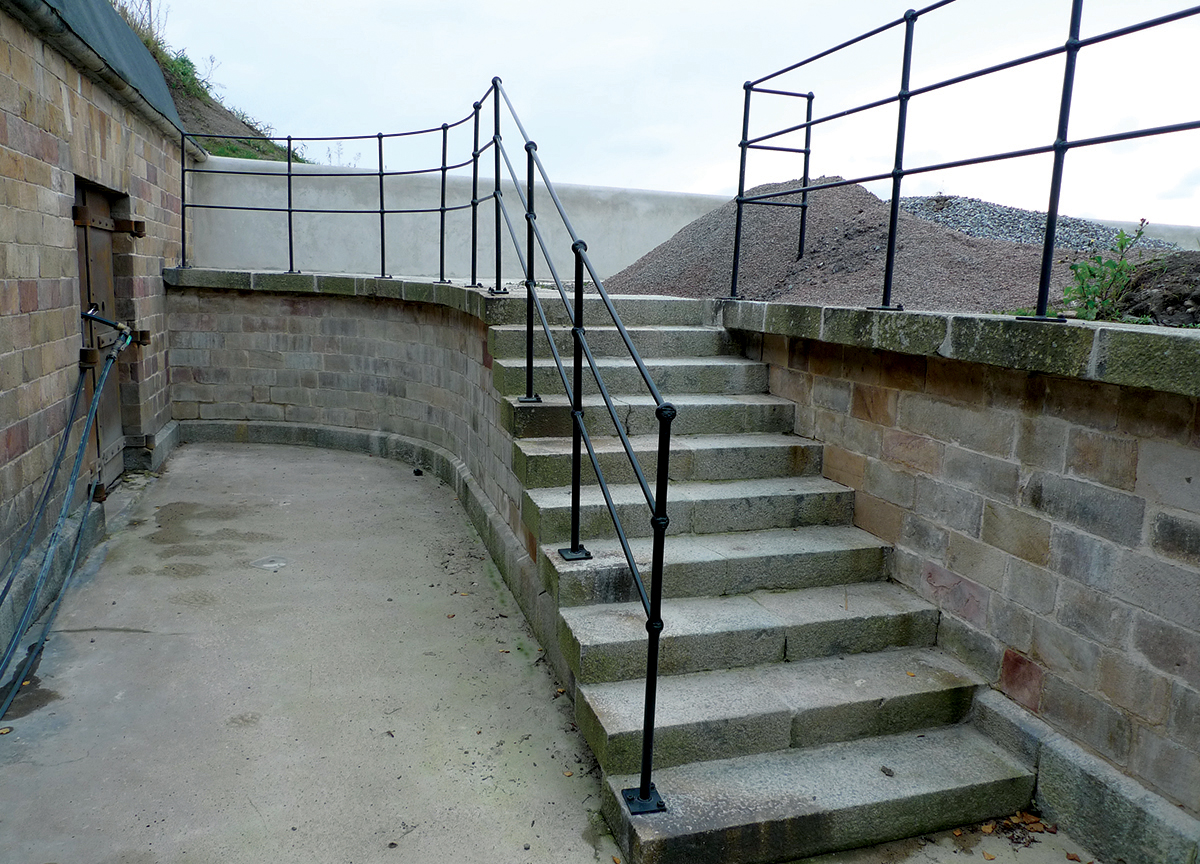 efter trappa