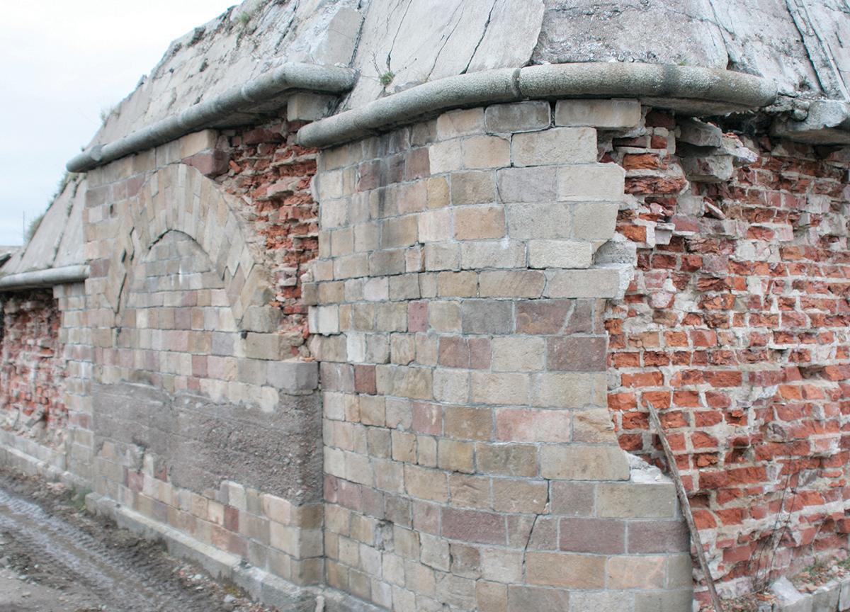 före, mur